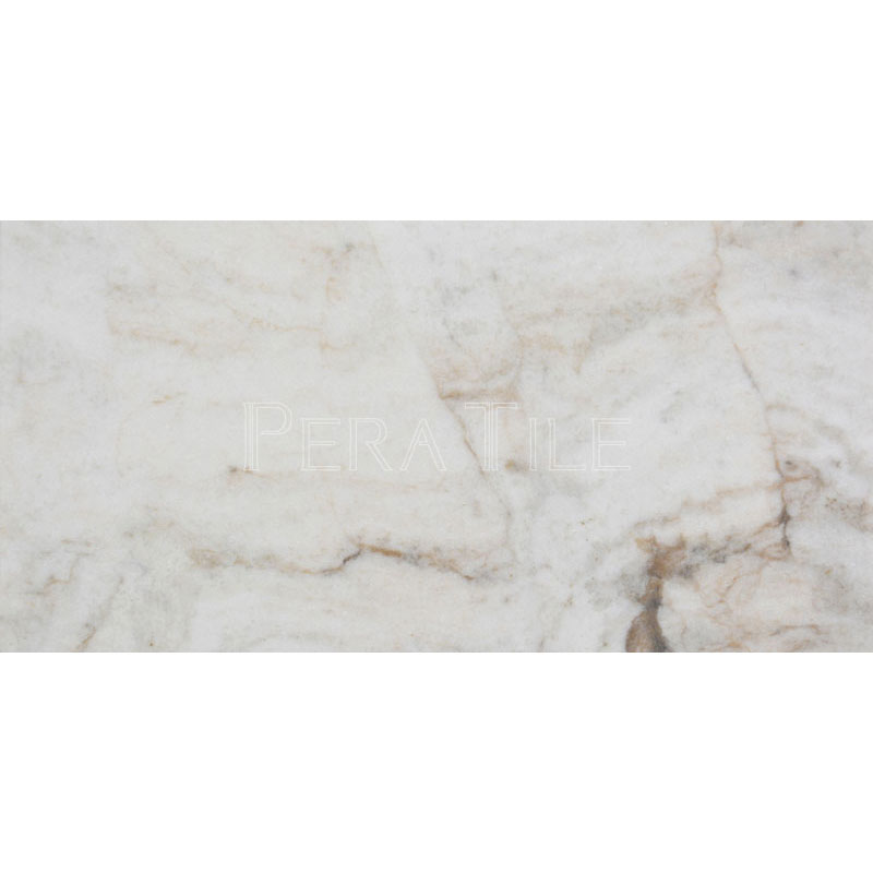 Bianco Marea 6x12 Honed Marble Tile Pera Tile