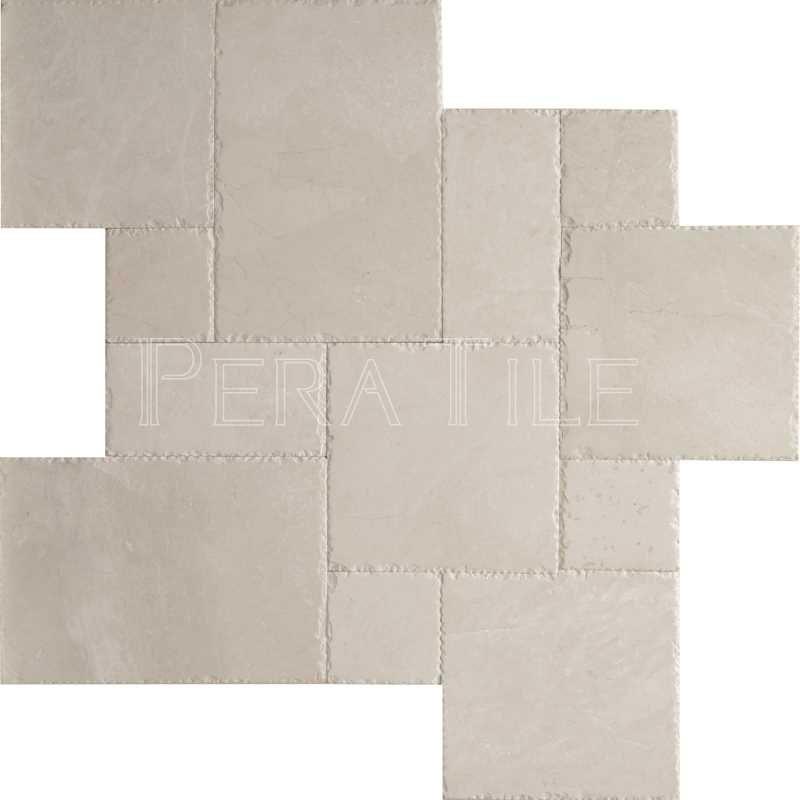 Sparta Versailles Pattern Brushed Chiseled Edge Marble
