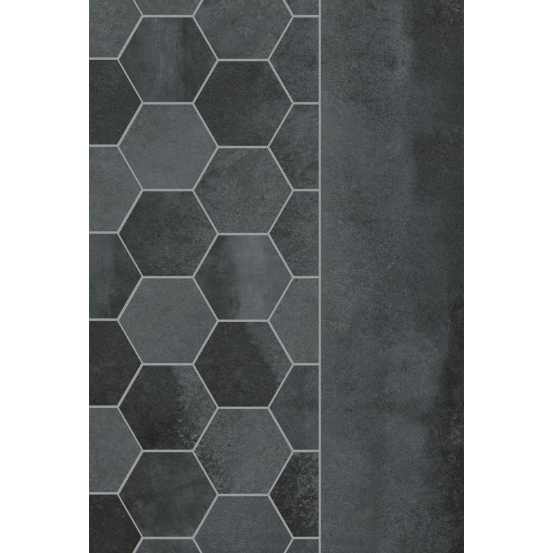 3 1 4 Quot Hexagon Urbana Anthracite Pera Tile