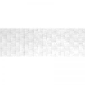 270246-16x48 SHAPE CONCEPT WALL TILE - WHITE MATTE