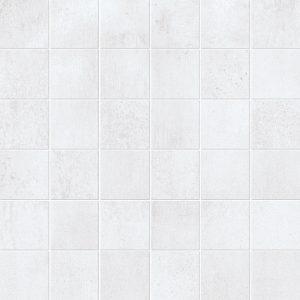 250249-2x2 SQUARE MOSAIC SHAPE - WHITE MATTE