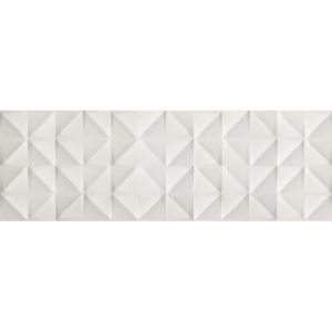 270254 - 16x48 SILK WALL TILE TOLL WHITE 3D