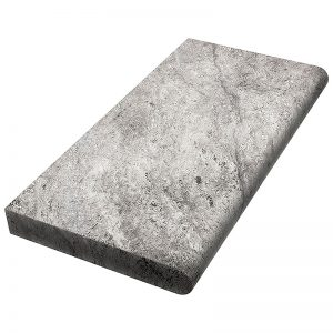 12×24 Hun Silver Tumbled Travertine Coping-5cm PERATILE