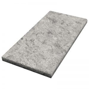 12×24x3cm Cadet Grey Fine Picked Marble Modern Coping