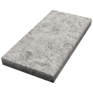 12×24x5cm Cadet Grey Fine Picked Marble Modern Coping