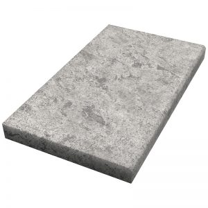 16×24x5cm Cadet Grey Fine Picked Marble Modern Coping