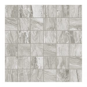 250362 Mosaic 2x2 silver matte
