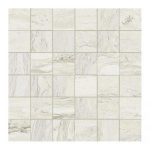 250364 Mosaic 2x2 white polished