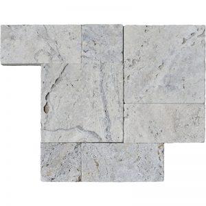 Hun Silver Roman Pattern Pera Tile