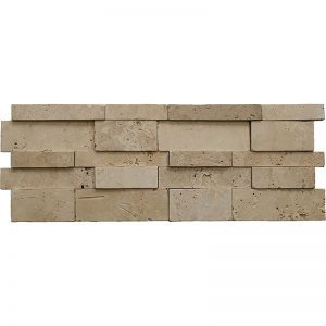 Pera Tile Meditera 7x20 Honed-Travertine Wall-Panels
