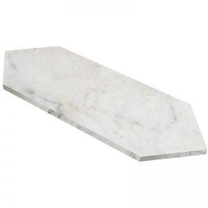 155204-06 Honed Bianco Marea 2 7:8x11