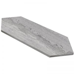 155204-18 honed 2 7:8x 11 grigio Elegante picket tile 1
