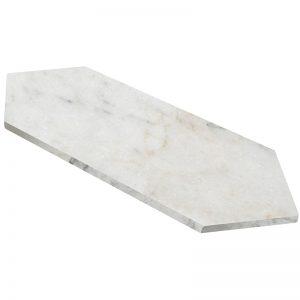 155205-06 Honed Bianco Marea 5 3:4x22