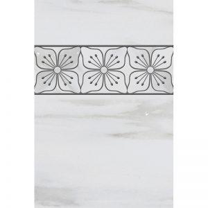 125120-128 FloretBorder Bianco Dolomiti