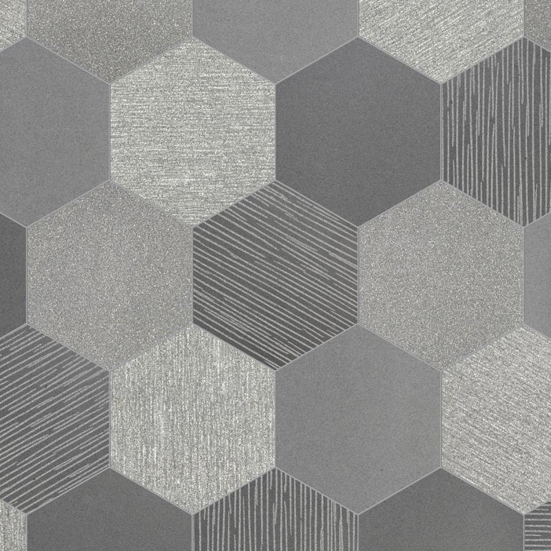 6 Quot Hexagon Greyon Multi Finish Pera Tile
