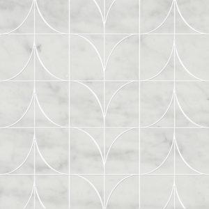 Corrente Mosaic Bianco Carrara