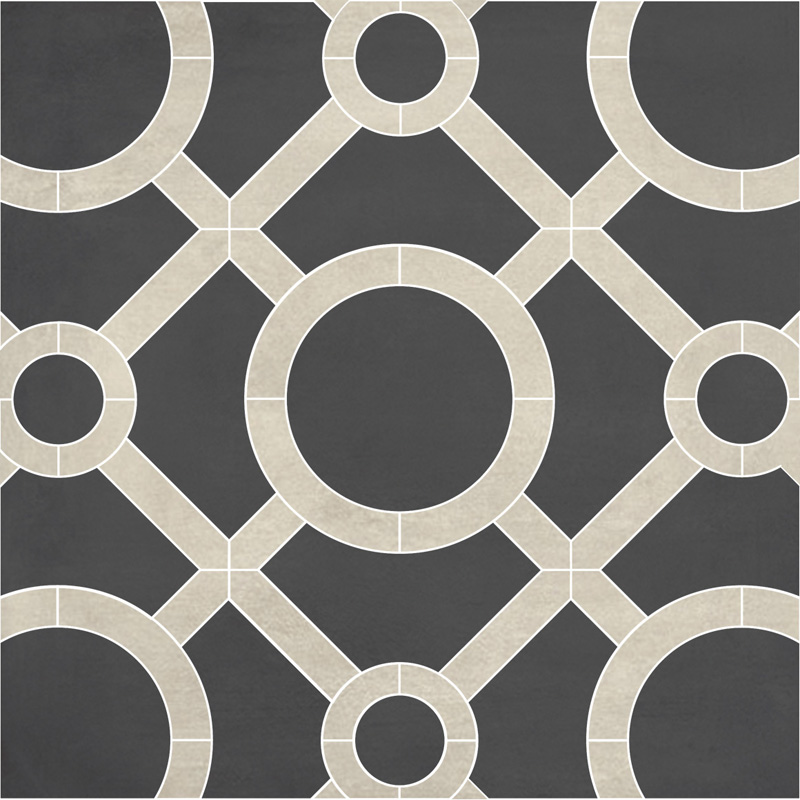 Links Mosaic Eastside Salt Ash Pera Tile
