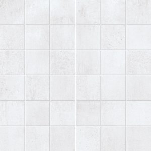 250249-2x2 SQUARE MOSAIC SHAPE - WHITE MATTE