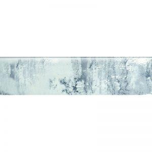 260278-3X12 SNAP BULLNOSE-SKY GLOSSY
