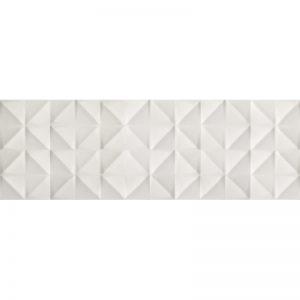 270254 - 16x48 SILK WALL TILE TOLL WHITE 3D