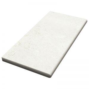 12×24x3cm Verano Tumbled Limestone Coping