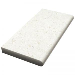 12×24x5cm Verano Tumbled Limestone Coping