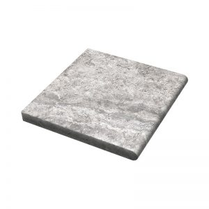 12×12X3cm PERATILE HunSilver Tumbled Travertine Coping