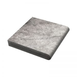 12×12x5cm PERATILE HunSilver Tumbled Travertine Coping