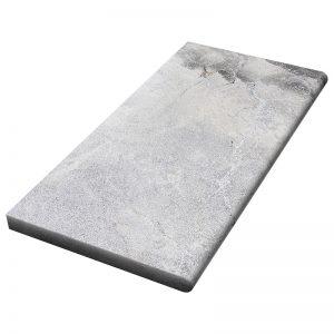 12×24x3cm Niobe Grey Fine Picked Marble Coping