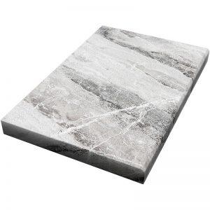 16×24x5cm Niobe Grey Fine Picked Marble Modern Coping