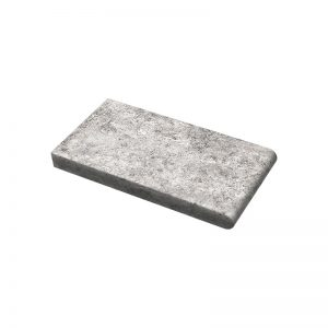 6×12X3cm PERATILE HunSilver Tumbled Travertine Coping