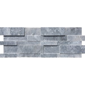 7×20 Cadet Grey Honed Marble Wall Panel