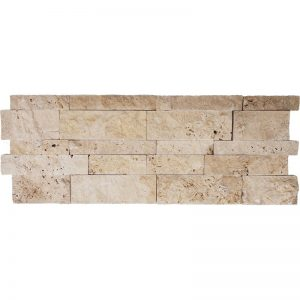 7 X 20 Meditera SPLITFACE INTERLOCKING LEDGER pera tile