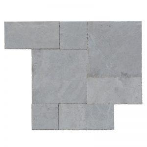 Niobe GreyMarble-Roman-Pattern-Paver-3cm