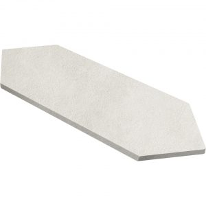 picket tile Conceta Bianco